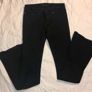 Rock & Republic low rise flare black jeans- 28